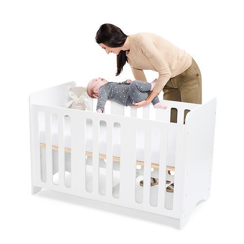 Детская кроватка Kinderkraft <img class='emojiMco' alt='🇪🇺' src='https://minim.kz/system/library/Emoji/AssetsEmoji/Icons/IconsIphone/U1F1EA U1F1FA.png'> STELLO White (22)