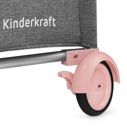 Манеж Kinderkraft <img class='emojiMco' alt='🇪🇺' src='https://minim.kz/system/library/Emoji/AssetsEmoji/Icons/IconsIphone/U1F1EA U1F1FA.png'> JOY с аксессуарами Pink (28)
