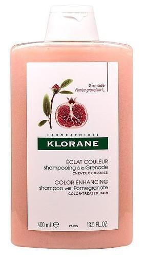 Шампунь Klorane Гранат для окрашенных волос 400мл (1)