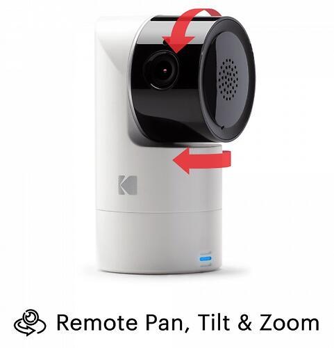 Цифровая интеллектуальная Wi-Fi видеоняняя Kodak CHERISH C225 (9)