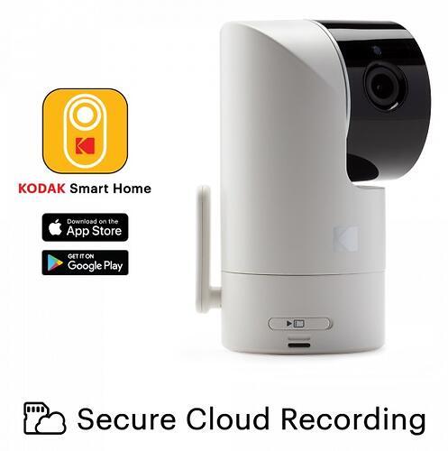 Цифровая интеллектуальная Wi-Fi видеоняняя Kodak CHERISH C225 (11)