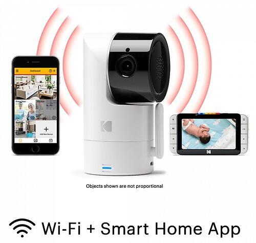 Цифровая интеллектуальная Wi-Fi видеоняняя Kodak CHERISH C525 (8)