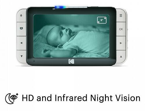 Цифровая интеллектуальная Wi-Fi видеоняняя Kodak CHERISH C525 (10)