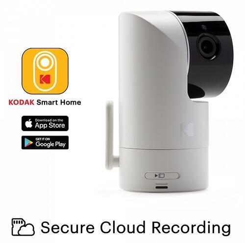 Цифровая интеллектуальная Wi-Fi видеоняняя Kodak CHERISH C525 (11)