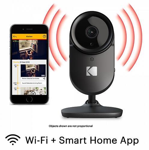 Интеллектуальное Wi-Fi устройство для видеонаблюдения Kodak CHERISH F670 (7)