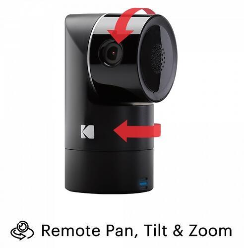 Интеллектуальное Wi-Fi устройство для видеонаблюдения Kodak CHERISH F685 (7)
