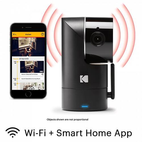 Интеллектуальное Wi-Fi устройство для видеонаблюдения Kodak CHERISH F685 (8)