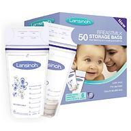 Пакеты Lansinoh для заморозки и хранения грудного молока Breastmilk Storage Bags 50 шт
