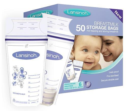 Пакеты Lansinoh для заморозки и хранения грудного молока Breastmilk Storage Bags 50 шт (5)
