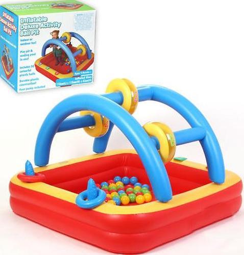 Игровой надувной центр Madd Kids Плот с шариками (1)