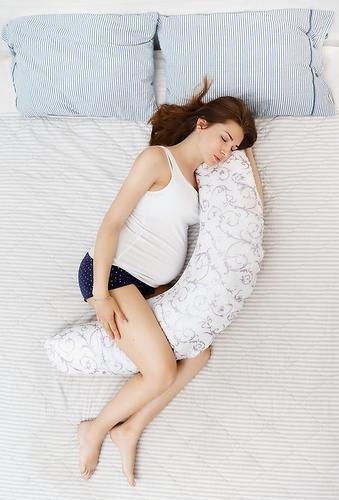 Подушка для беременных Roxy Kids наполнитель полистирол (шарики) ART0020 (15)