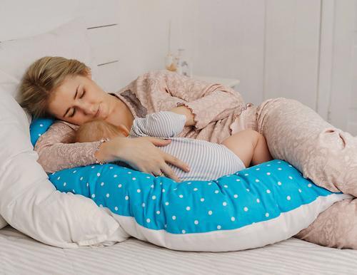 Уценка! Подушка Roxy для беременных, наполнитель полистерол (шарики) RPP-006Wb (Ал) (18)