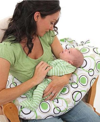 Подушка для беременных Roxy Kids наполнитель полистирол (шарики) голубая (5)