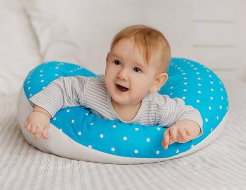 Уценка! Подушка Roxy для беременных, наполнитель полистерол (шарики) RPP-006Wb (Ал) (19)