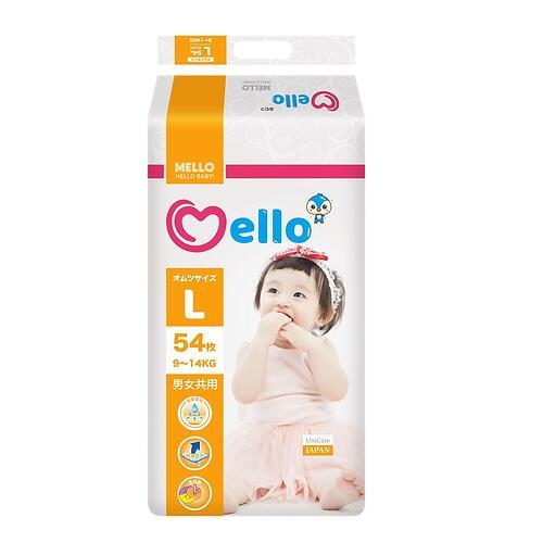 Подгузники Mello L 9-14 кг 54шт (1)
