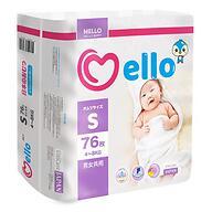 Подгузники Mello S 4-8 кг 76шт