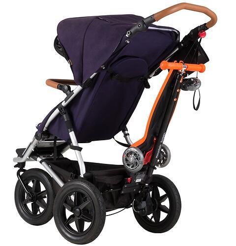 Самокат-подножка для второго ребенка 2в1 Mountain Buggy Freerider Черный (11)