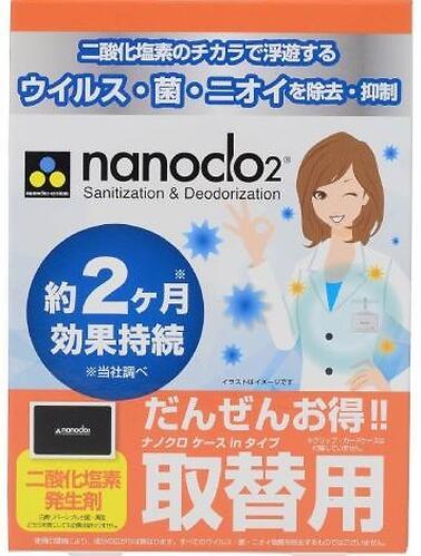 Блокатор вирусов для индивидуальной защиты NANOCLO2 карта с чехлом (3)