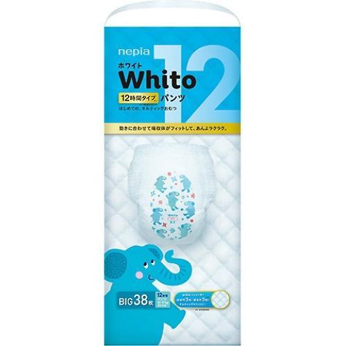 Подгузники-трусики Whito 12 часов BIG 12-17 кг 38 шт (3)