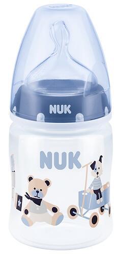 Бутылка Nuk FC+ c силиконовой соской р1 150 мл PP в ассортименте (4)
