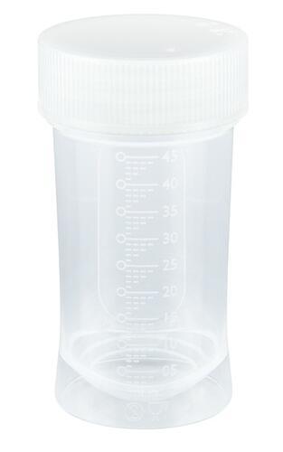 Бутылка Nuk для маловесных одноразовая без соски PP 45 мл (3)