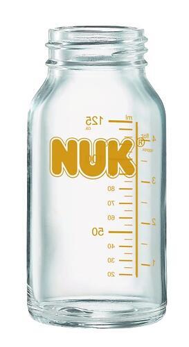 Бутылка Nuk Clinik без соски стеклянная 125мл (1)