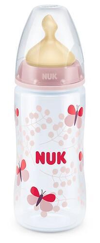 Бутылка Nuk FC+ c латексной соской р1 PP 300 мл в ассортименте (8)