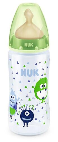 Бутылка Nuk FC+ c латексной соской р1 PP 300 мл в ассортименте (9)
