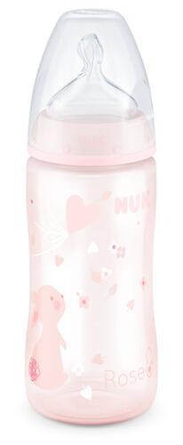 Бутылка Nuk FC+ c силиконовой соской р1 PP 300 мл Baby Rose (1)