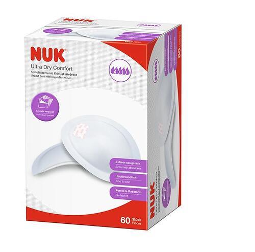 Прокладки для груди Nuk Ultra Dry 5 капли 60 шт (6)