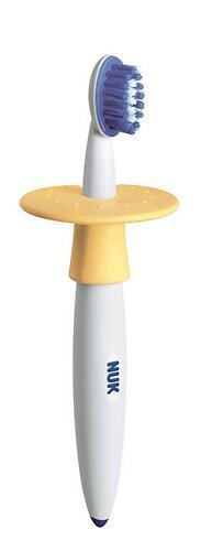 Зубная щетка Nuk с ограничителем от 1 года (1)