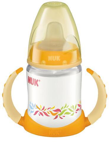 Бутылочка-поильник Nuk First Choice 150 мл с насадкой TPE 6-18 мес с ручками (5)