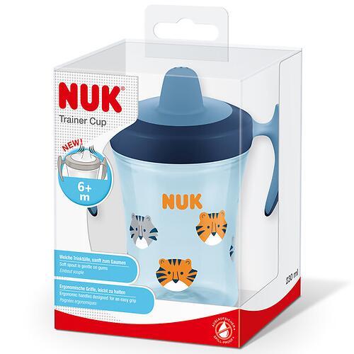 Поильник Nuk Evolution Trainer 6 мес с ручками 230 мл в ассортименте (4)