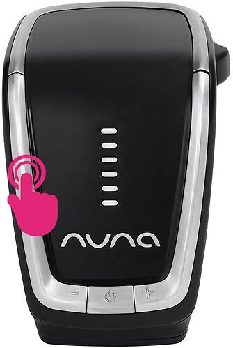 Укачивающее устройство Nuna Leaf Wind для шезлонгов (6)