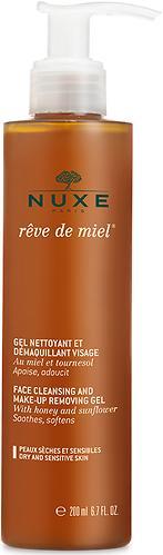 Гель очищающий Nuxe yxe Reve de Miel для снятия макияжа 200мл (1)