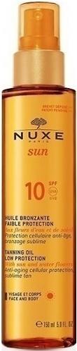 Масло для загара Nuxe Sun для лица и тела SPF10 150 мл (1)