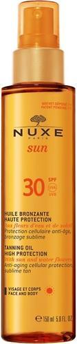 Масло для загара Nuxe Sun для лица и тела SPF30 150мл (1)