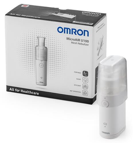 Меш-небулайзер Omron MicroAIR U100 (9)