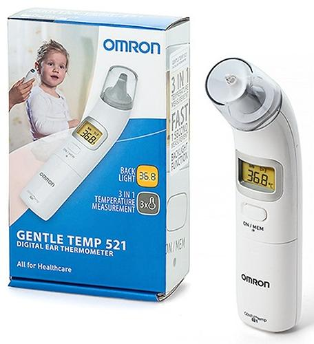 Термометр Omron Gentle Temp 521 ушной (9)