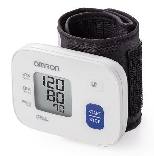 Тонометр Omron RS1 автоматический на запястье с индикатором аритмии (5)