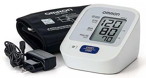 Тонометр Omron M2 Basic (манжета 22-42 см, адаптер) (7)