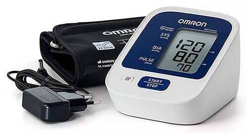 Тонометр Omron M2 Classic (манжета 22-42 см, адаптер) (6)