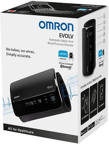 Тонометр Omron EVOLV портативный с возможностью подключения к смартфону (13)