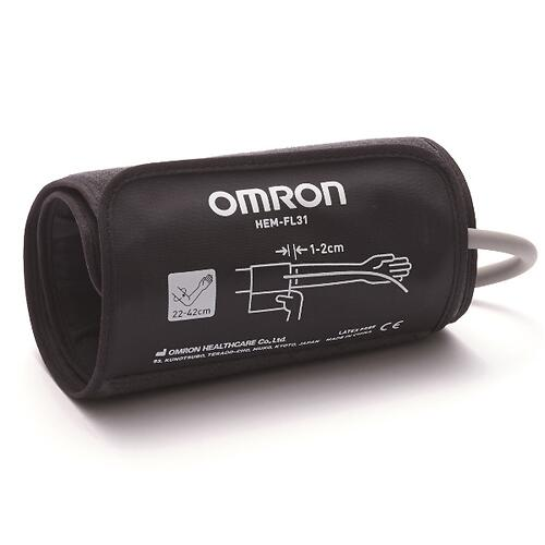 Тонометр Omron M3 Comfort (манжета Intelli Wrap 22-42 см, адаптер) (6)