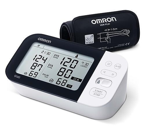 Тонометр Omron автоматический M7 Intelli IT с возможностью подключения к смартфону с технологией AFIB (7)