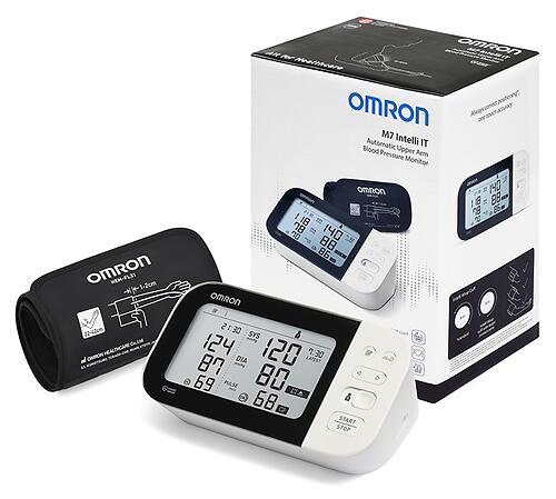 Тонометр Omron автоматический M7 Intelli IT с возможностью подключения к смартфону с технологией AFIB (12)