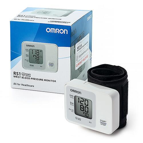 Тонометр Omron RS1 автоматический на запястье с индикатором аритмии (6)