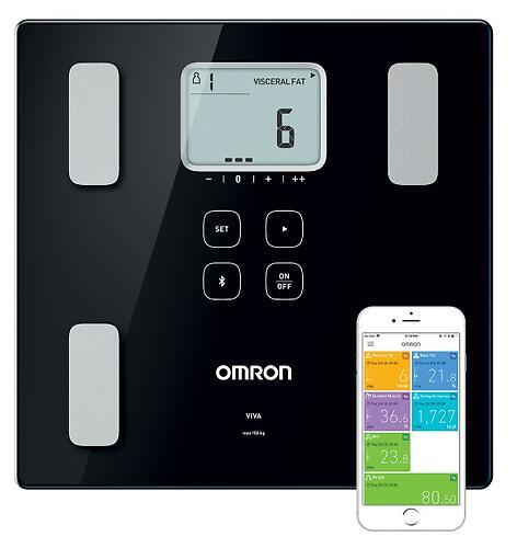 Жироанализатор Omron VIVA с возможностью подкл к смартфону (4)