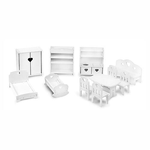 Набор кукольной мебели PeMa kids 11 предметов (6)