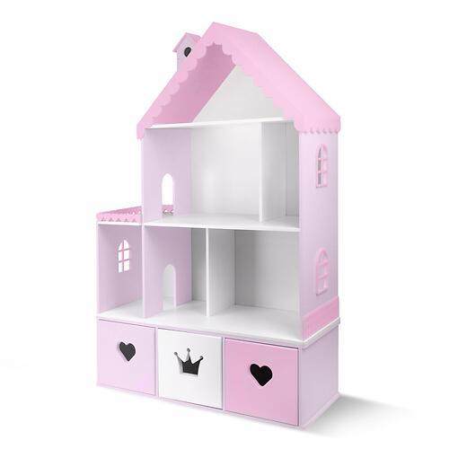 Кукольный домик PeMa kids Стефания Лилово-Розовый (5)
